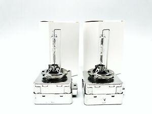 2x New OEM Philips D1S Xenon Bulbs HID Light Lamp Set Xtreme Vision 4800-5000K