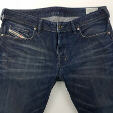 Diesel ZATINY 0806W Mens Jeans W36 L26 Dark Wash Regular Fit Bootcut High Rise