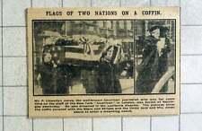 1915 Mr P Llewellyn Jones American Journalist Funeral Haringay, Lusitania Victim