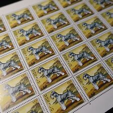 FEUILLE SHEET MONACO N°963 x30 EXPOSITION CANINE CHIENS NEUF ** MNH COTE 192€