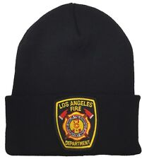 City of Los Angeles LAFD Black Beanie