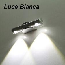 Applique Lampada da Parete Up Down LED Lampada Specchio Corridoio Bianco