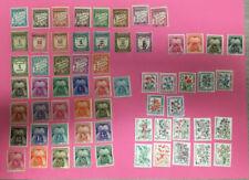 Timbres avec 1 timbre avec charnière
