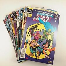 Justice League Task Force Set of 36 (#0, 3-37) VF+/NM Aquaman, Flash, Warlord