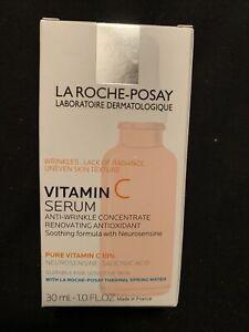La Roche-Posay Pure Vitamin C Face Serum Anti Aging Face Serum 1.0 fl oz NEW