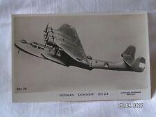 VALENTINE'S POST CARD GERMAN DORNIER DO 24