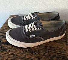 Vans Vault OG Authentic Lx Canvas/Suede) Asphalt & Black