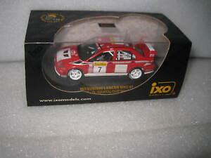 IXO 1:43 WRC MITSUBISHI LANCER EVO #7 DELECOUR RALLY MONTE CARLO 2002  RAM071