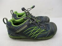 KEEN Shoes Youth Size 4 Casual Hiking Trail Lightweight Blue/Green