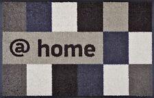 Fußmatte at home brownish Wash+dry Türmatte innen draussen Schmutzmatte 50x75 cm