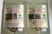 Organic Tongkat Ali &  Butea superba Combo Pack - 120 Capsules Sexual Heath