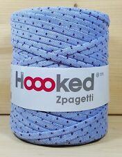 """Hoooked """"Zpagetti  Polo Denim Prints"""" Neu, Baumwolle Häkeln, Stricken Hooked 710"""