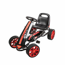 New listing Kids Pedal Go kart Ride-On Car Toy Powered Cars 4 Wheels Outdoor Boy & Girl