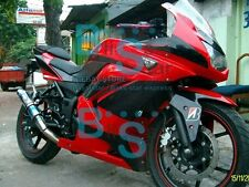 Red Fairings + Tank Cover Fit Kawasaki Ninja 250R EX250 09 10 11 08-12 89 WW