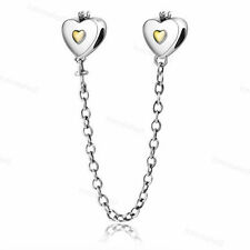 925 Fashion Sterling European Silver Charms Bead For Bracelet Chain Necklace US1