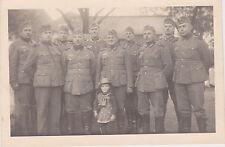 Mädchen Rastenburg mit Stahlhelm 11x8 cm original Foto