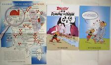 lot 3 posters PASTICHE ASTERIX ANTINUCLÉAIRE / PARODIE carte Gaule, etc../ TBE !
