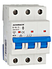 LS-Automat, Sicherungsautomat, B16A 3-polig, Amparo