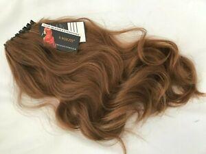 "BNWT S - Noilite Auburn Brown Clip In Hair Extension Piece 18"" inch long"
