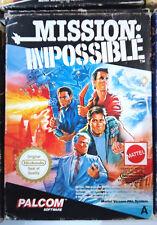 Mission: Impossible  NES Originale PAL A ITA Nintendo Retrogames Mattel Palcom