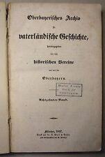 OBERBAYERISCHES ARCHIV, 18. Band 1857 / Heimatkunde / Geschichte BAD AIBLING