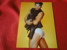 Vintage 18 Year Old + Gay Interest Chippendale/Colt/Fox Semi Nude Male Photo D28