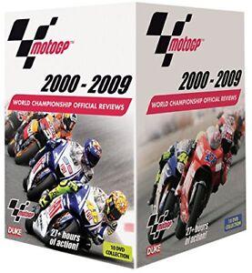 MotoGP 2000 - 2009 [10 DVD] NEU 2000+2001+2002+2003+2004+2005+2006+2007+2008+009
