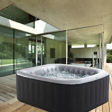Whirlpool In-Outdoor Wellness Heizung Massage aufblasbar MSpa 158x158cm 2.Wahl