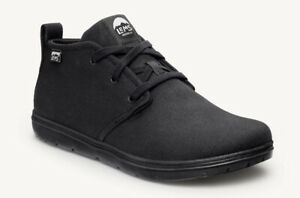 Lems Chukka Boot Canvas USED Indoors Black Zero Drop F Size 5UK X wide Was £125