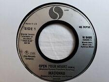 "Madonna - Open Your Heart 7"" Vinyl Single"