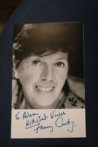Carry On Coronation Street On The Buses FANNY CARBY hand signed photo