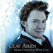 CLAY AIKEN Merry Christmas With Love VG CD