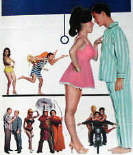 PAJAMA PARTY original poster ANNETTE FUNICELLO/MARY HUGHES/BOBBI SHAW/SUSAN HART