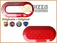 *FRP* KEY COVER CHIAVI FIAT 500 ABARTH TRIBUTO FERRARI - ORIGINALE