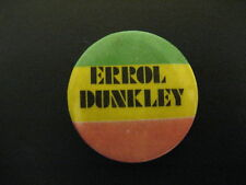 Errol Dunkley-Ok Fred-Reggae-Pin-Badge-Button-80's Vintage-Rare