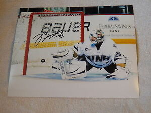 Florida Panthers Brian Foster University of Newhampshire Wildcats Auto Photo