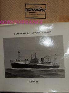 Gran Foto Cnp Compañía Navegación Paquete - Oued Ziz Cargo Arachidier 1949-1968