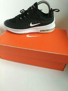 Nike air max women's Trainers Size 3 black shox react force thea