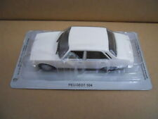 Legendary Cars PEUGEOT 504 WHITE BIANCA 1:43 Die Cast  [MV40-3]