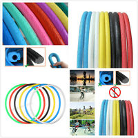 Black 700Cx23mm Solid Fixed Gear Road Bike Tire Bicycle Cycling Tubeless Tyre