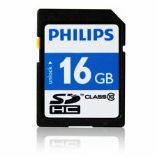Brand New Philips SDHC 16 GB Class 10 Memory Card