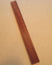 "Pau Ferro Fretboard. 25"" scale. 22 fret slots. 1 11/16"" nut. No radius."