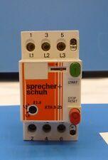 Sprecher + Schuh Disjoncteur KTA 3-25 (Rechn. INCL. TVA)