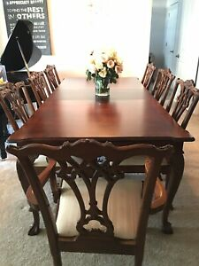 Cherry Dining Furniture Sets With 11 Items In Set For Sale In Stock Ebay