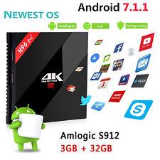 New H96pro Plus Andriod 7.1 TV Box 3G RAM + 32G ROM Amlogic S912 Smart TV Box