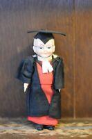 Fabulous RARE VINTAGE Costume Doll of a Scholar/School Master - 18cm Tall