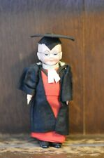 Fabulous RARE VINTAGE Costume Doll of a Scholar/School Master - 18cm Tall
