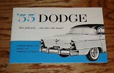 1955 Dodge Owners Operators Manual 55 Custom Royal Coronet