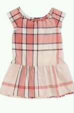 NWT BURBERRY GIRLS Nova CHECK Pink DRESS TOP Size 4 3 $195
