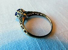 SOLID 14K YELLOW GOLD ANTIQUE VICTORIAN EDWARDIAN STYLE RING. 2.7 GRAMS